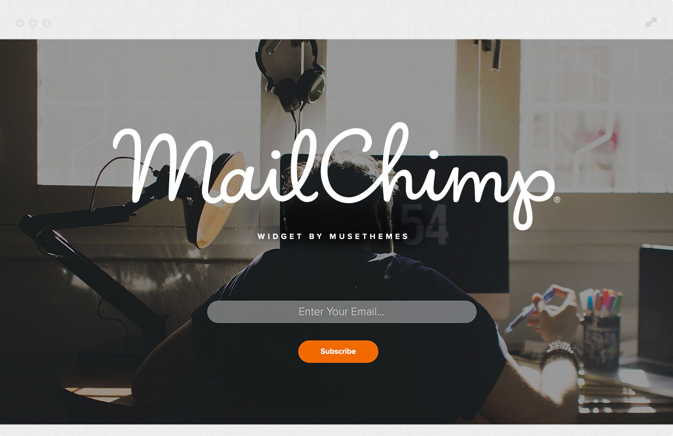 MailChimp Email Signup