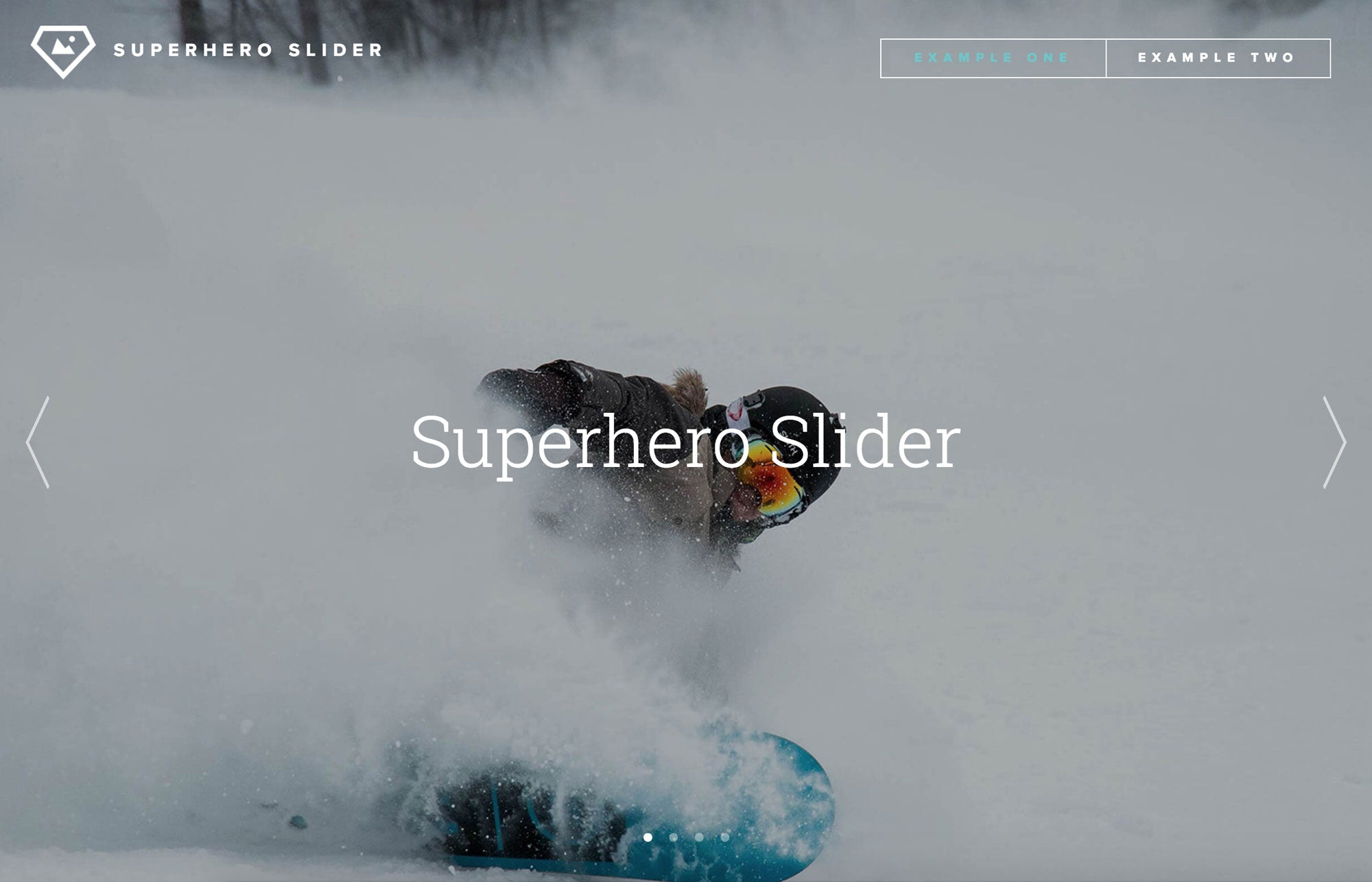 SuperHero Slider Widget for Adobe Muse by MuseThemes
