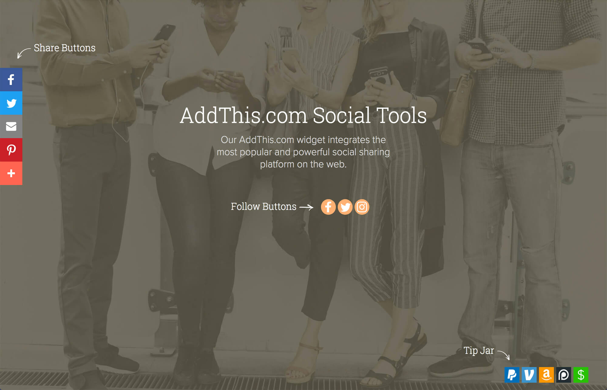 Addthiscom Social Tools Widget For Adobe Muse By Musethemes
