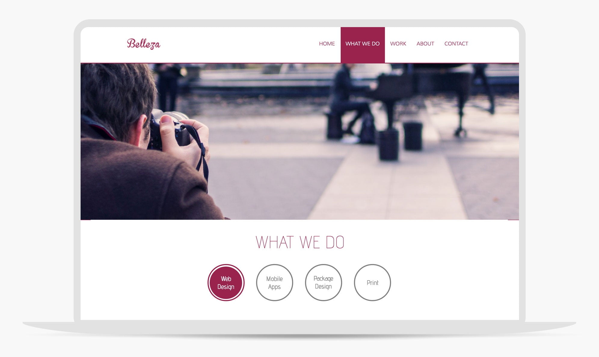 Belleza Adobe Muse Theme By Musethemes