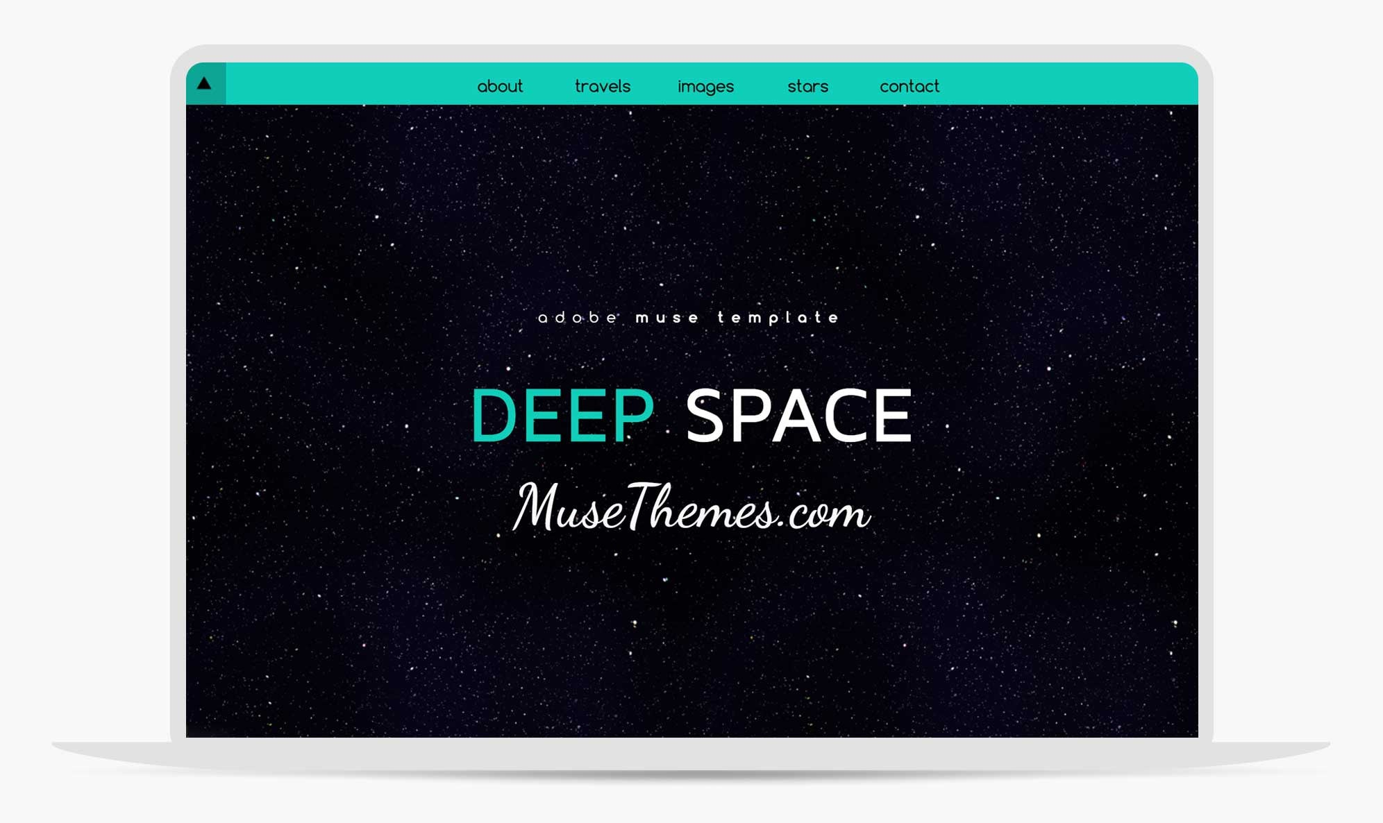 Deep Space | Adobe Muse Parallax scrolling stars template