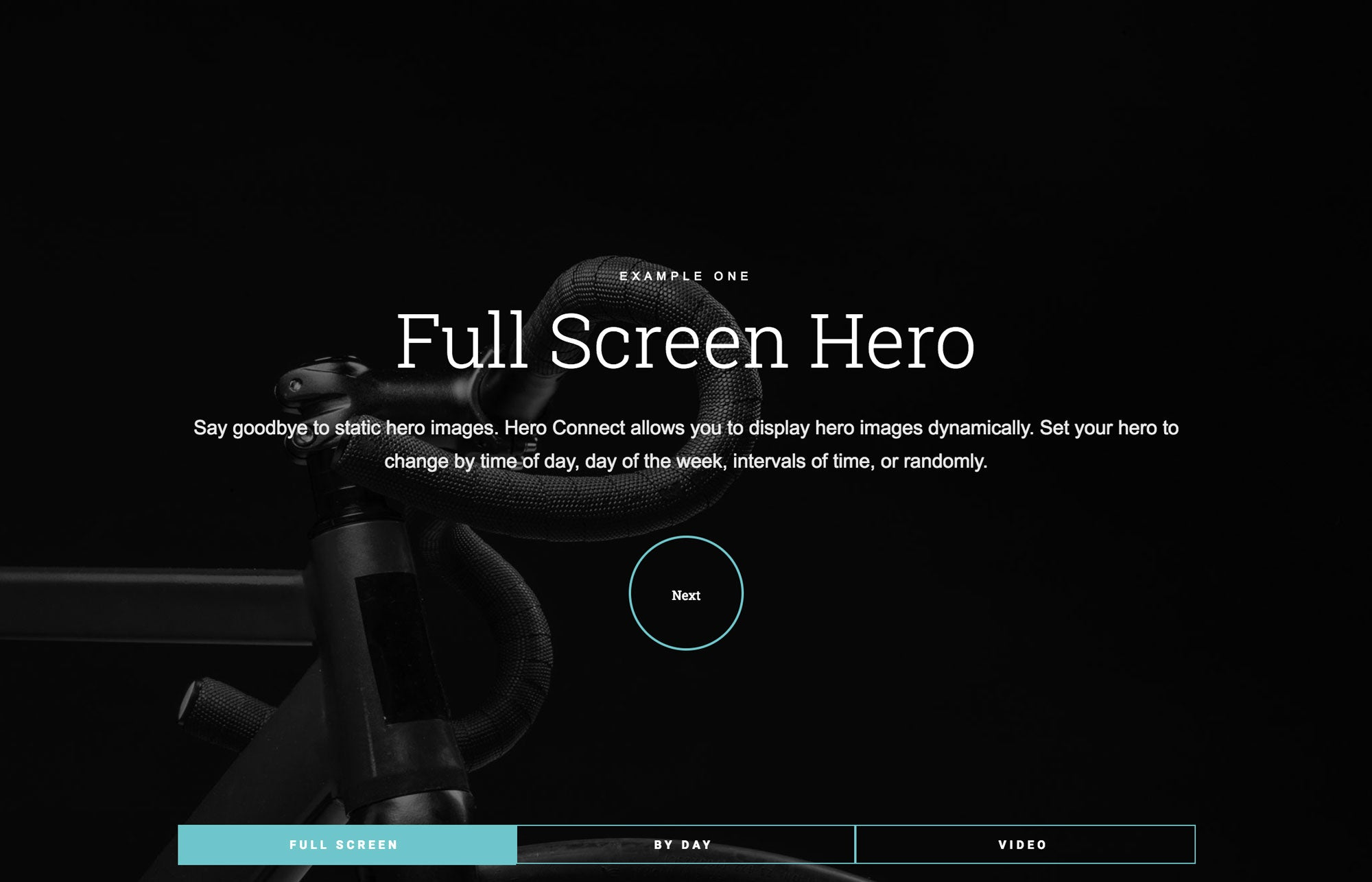 Adobe Muse Hero Connect Widget for Adobe Muse by MuseThemes