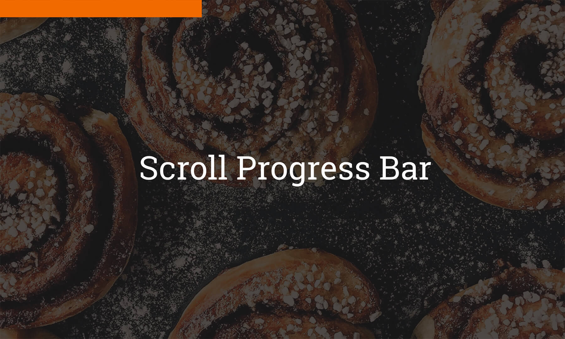 Scroll Progress Bar Widget by MuseThemes