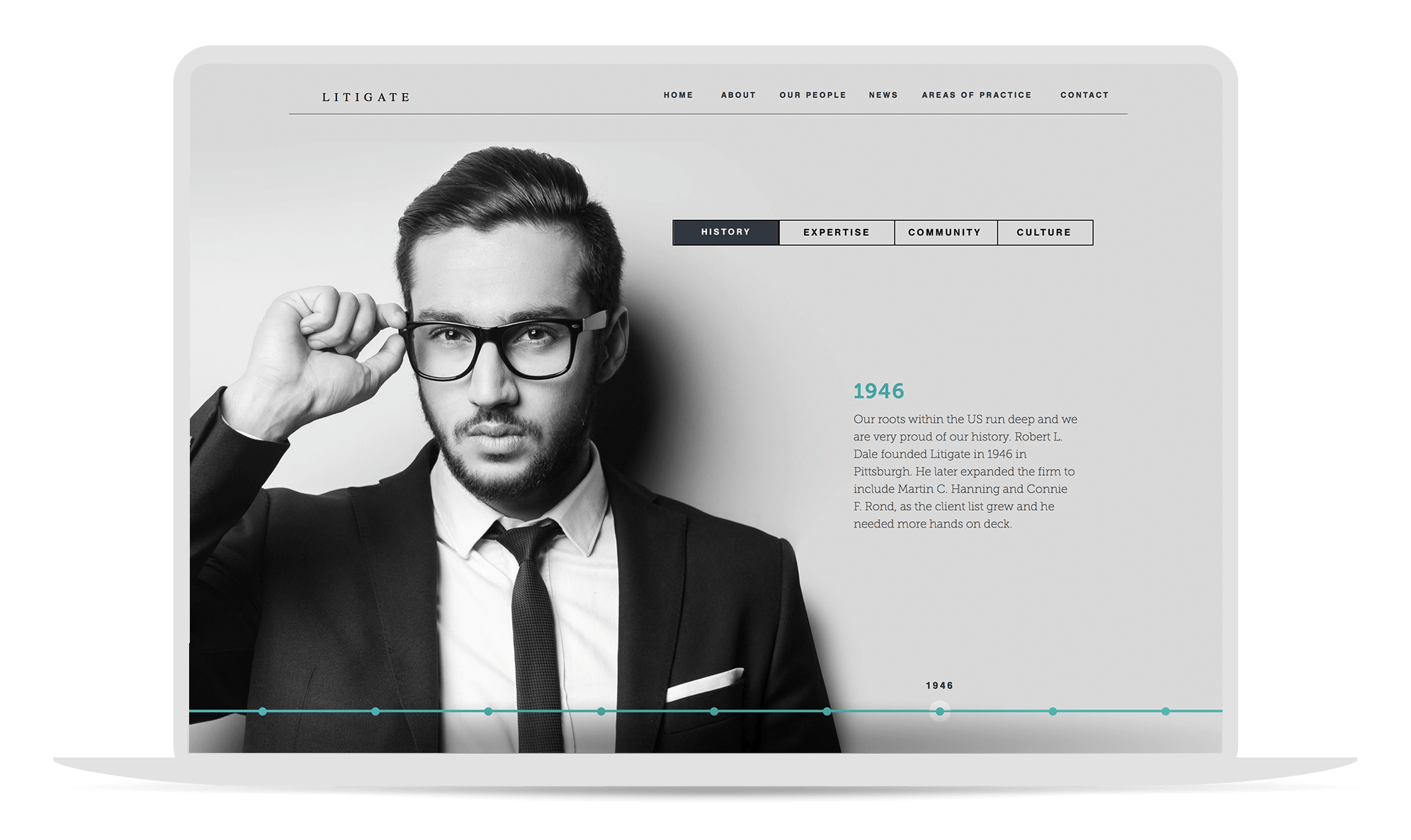 Litigate - Adobe Muse Law Firm Template   MuseThemes