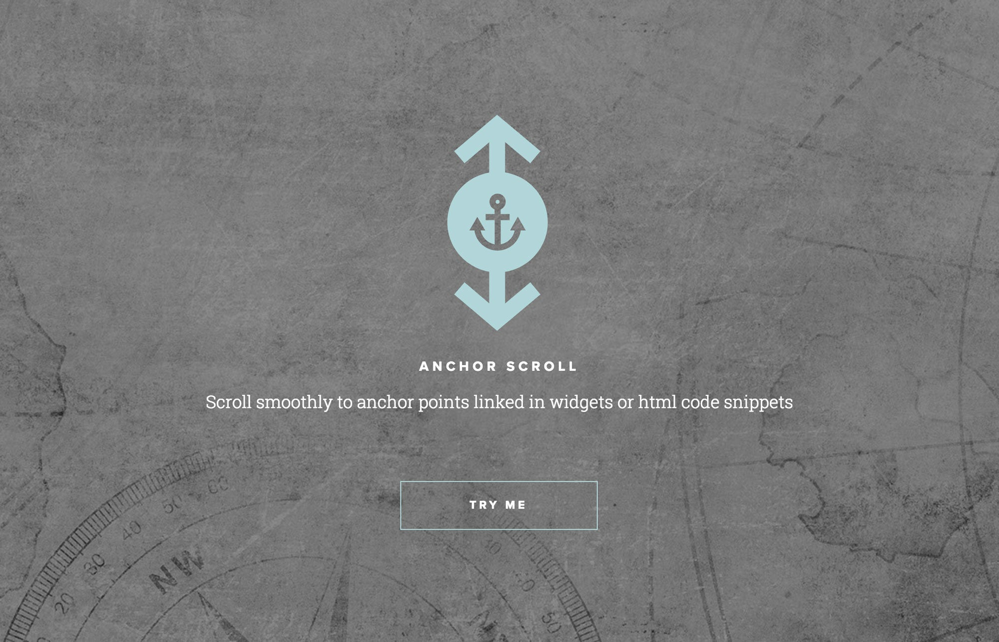 Anchor Scroll Widget by MuseThemes for Adobe Muse