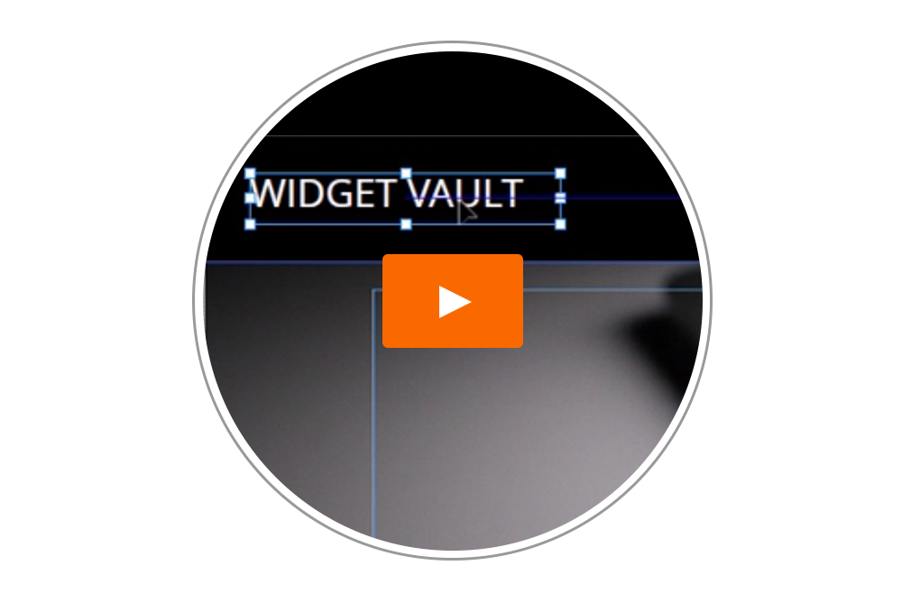 Building the Widget Vault Slideshow - Tutorial