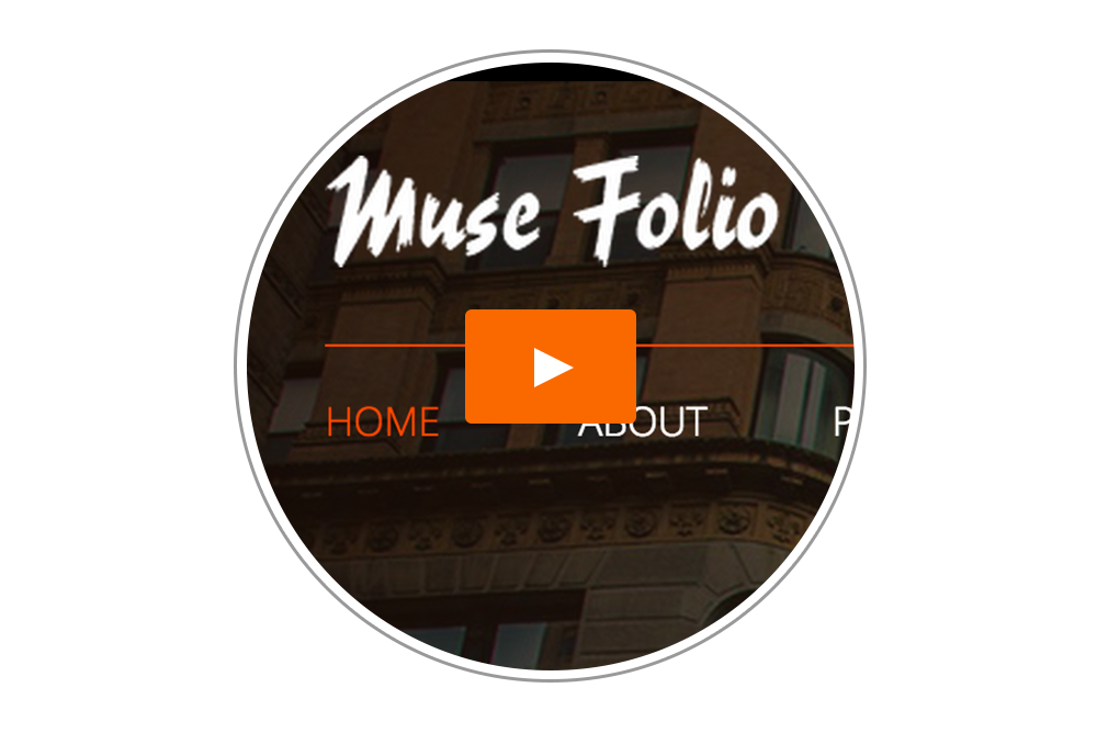 Muse Folio Menu - Tutorial