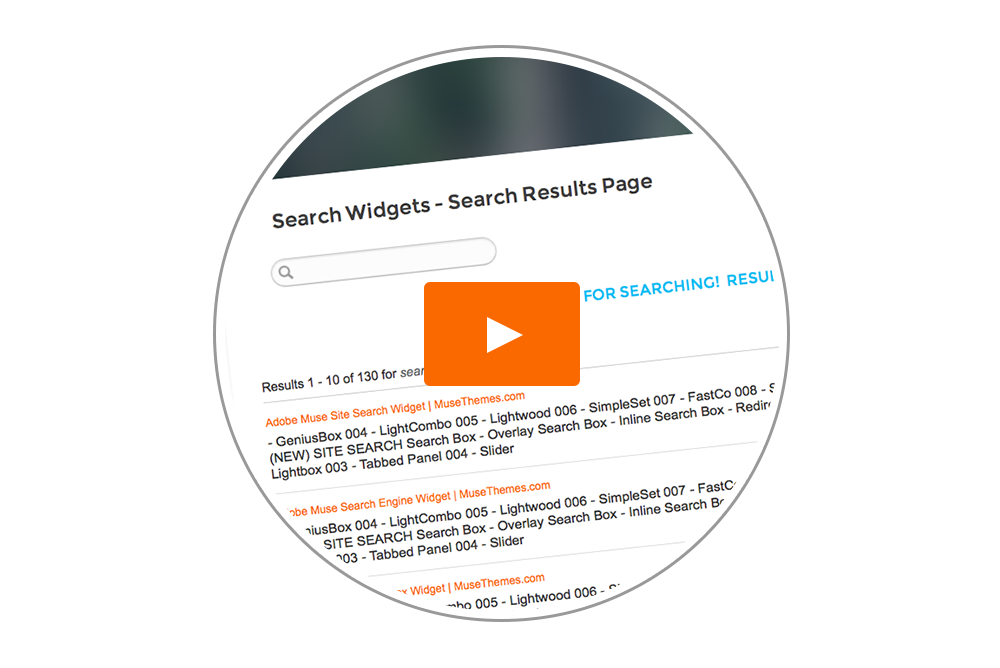 Search Widget (Swiftype) - Tutorial