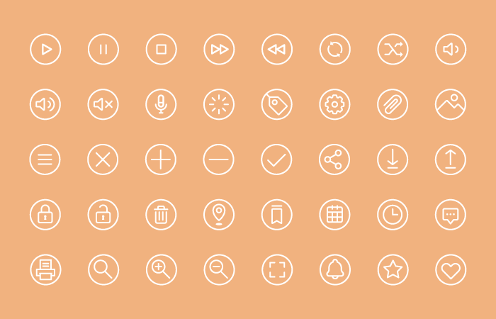 Utility Icons Graphic Pack
