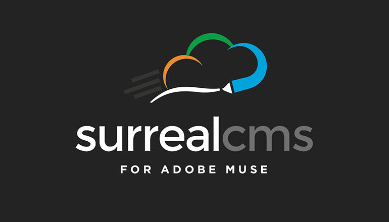 Surreal CMS for Adobe Muse