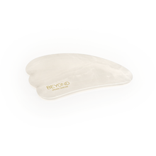 Load image into Gallery viewer, Beyond White Jade - Face Roller & Gua Sha Set