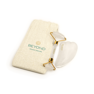 Beyond White Jade - Face Roller & Gua Sha Set