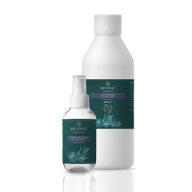 Hand Sanitiser+ Tea Tree & Lavender Refillable Set
