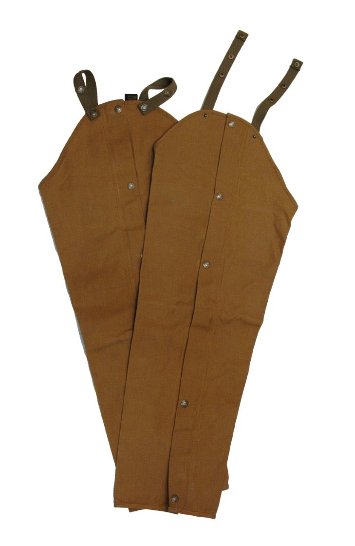Waxed Cotton Upland Chaps