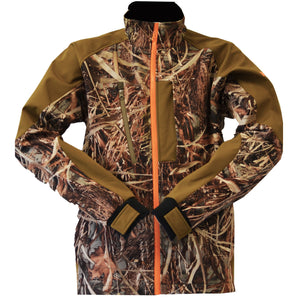 Wildfowler soft shell jacket, wildgrass
