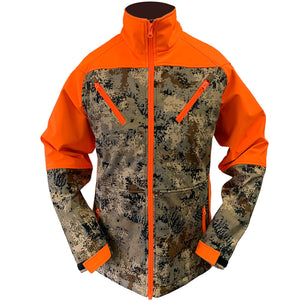 Women's upland soft shell digital camo