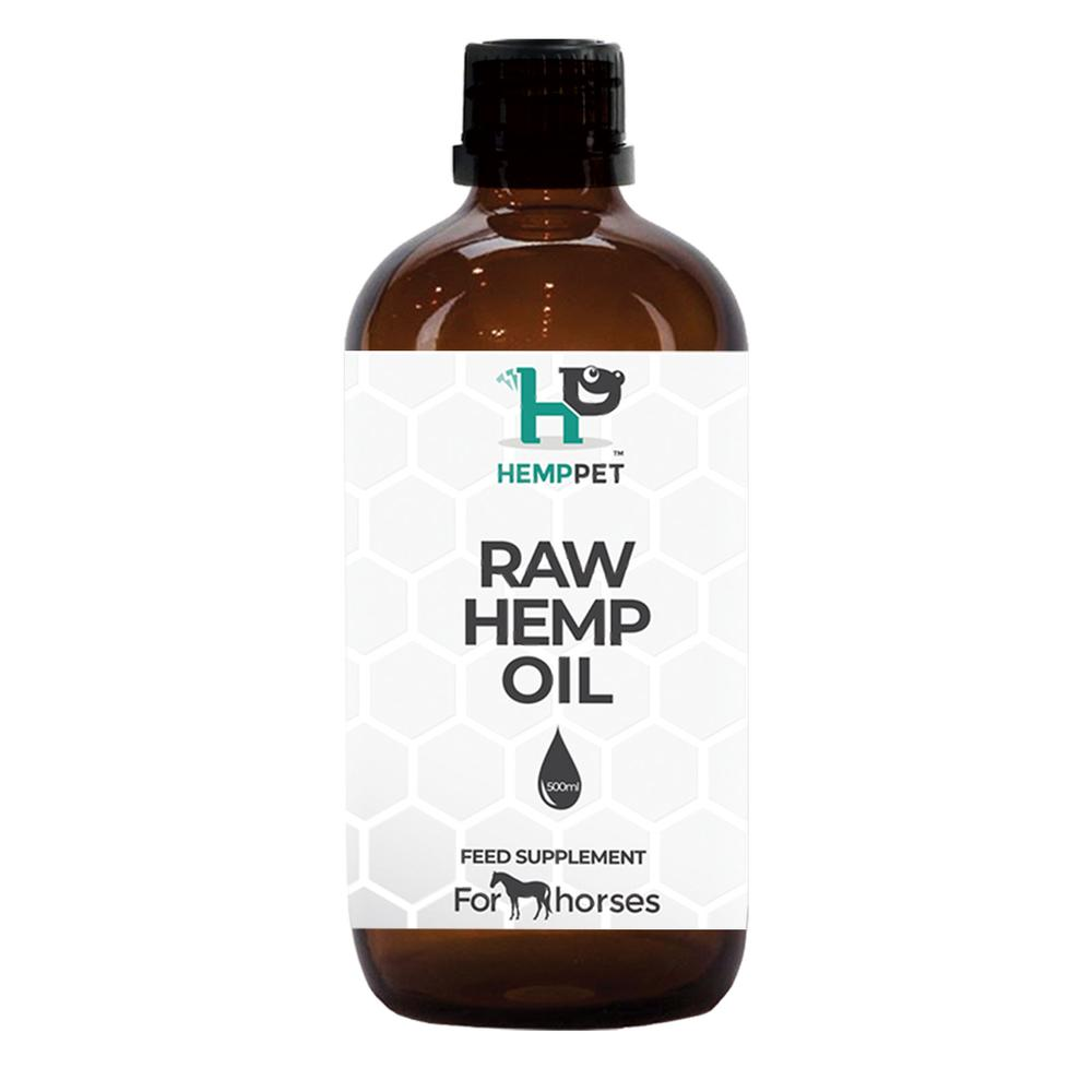 Raw Hemp Oil for Horses 500ml
