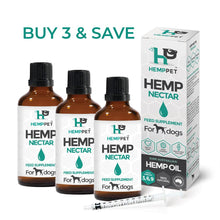 Load image into Gallery viewer, Hempseed Nectar for Dogs 3 x 100ml