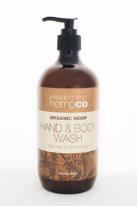 Hemp Hand & Body Wash – Wild Lime & Lemongrass – 240ml