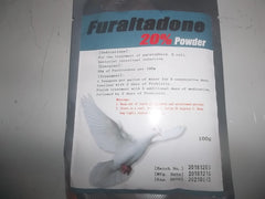 Furaltadone 20% pdr (100 grams) Pigeon Supplies Plus line
