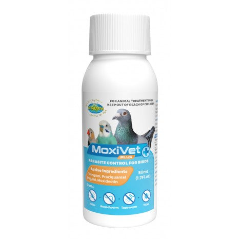 Moxivet Plus (Vetafarm product) 50ml & 250ml