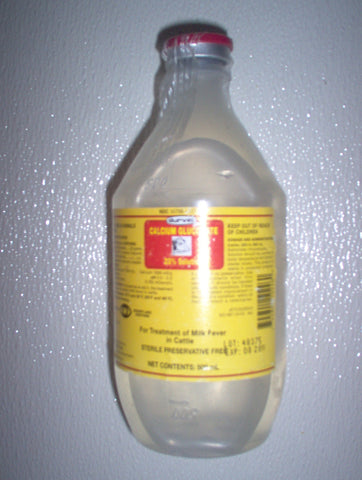 CALCIUM GLUCONATE 23% SOLUTION (Durvet, Inc.)