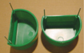 Feed/water cup (holds 3 oz.)
