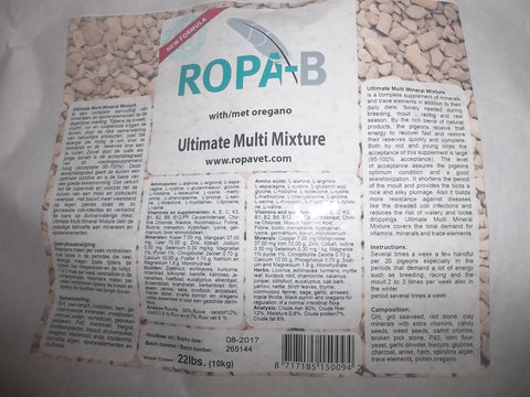 Ropa B Ultimate Multi Mixture (10kg or 22 lbs)