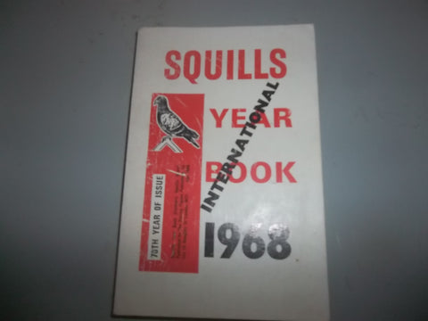 Squills International Year Book (1968 & 70th Year issue) 480 pages