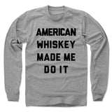 American Whiskey Men's Long Sleeve T-Shirt | 500 LEVEL