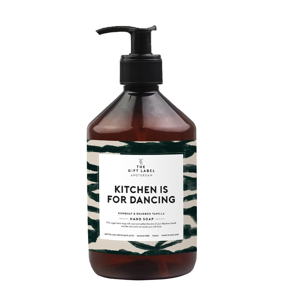 "Hand Soap ""Kitchen is for Dancing"""