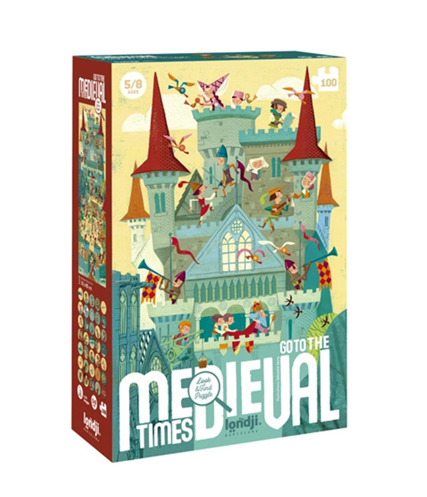Puzzle | Go to the Medieval