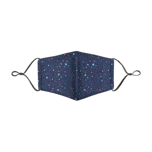 "MIMI & LULA ""Mini Me"" Night Sky Print mouth and nose mask"