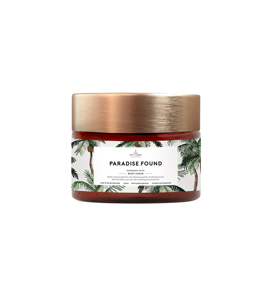 "Body Salt Scrub ""Paradise Found"""