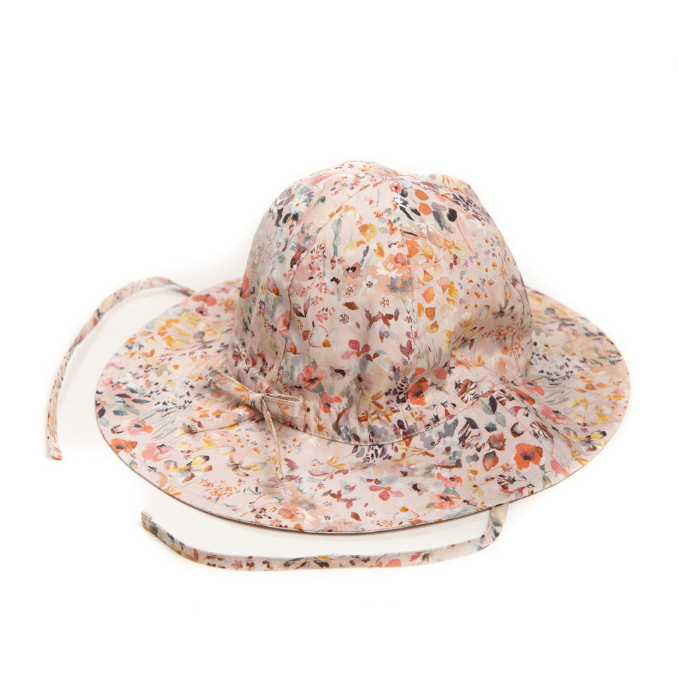 "Summer hat ""Festival Hat Liberty"" field rose"