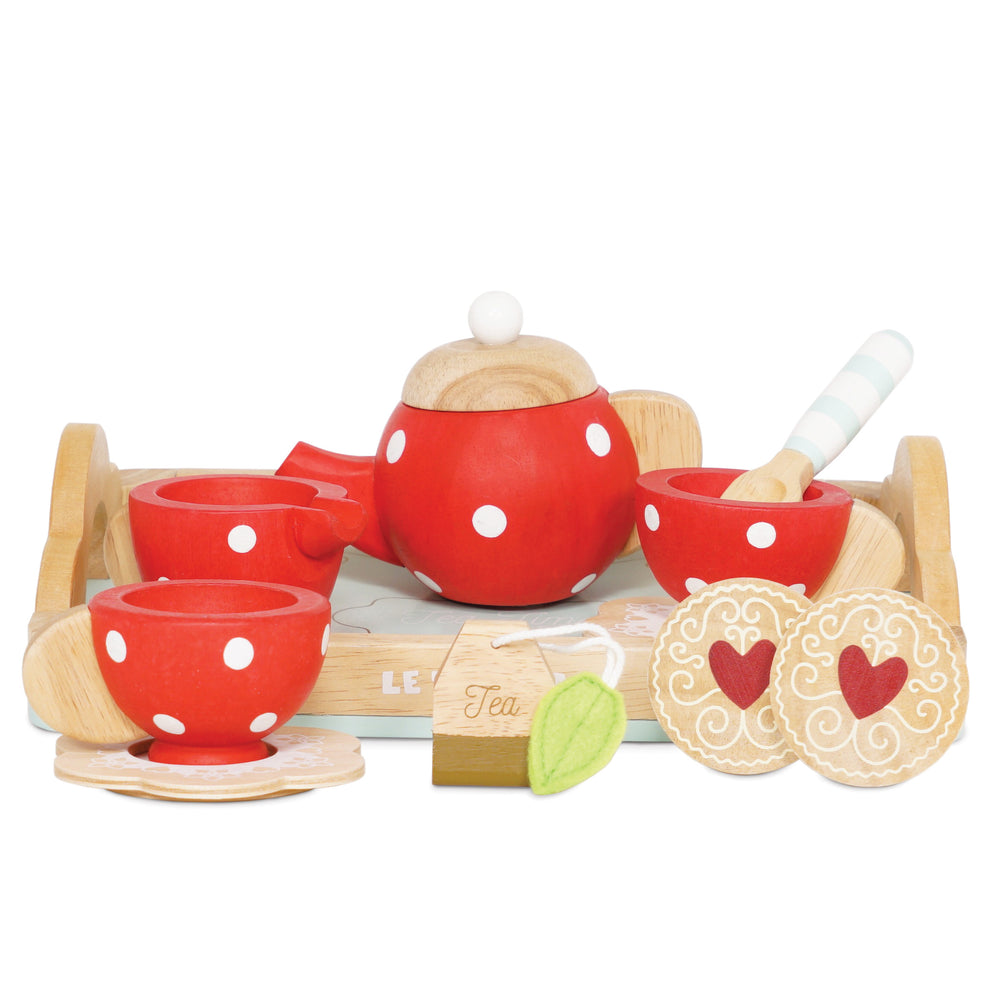Honeybake Tee Set aus Holz