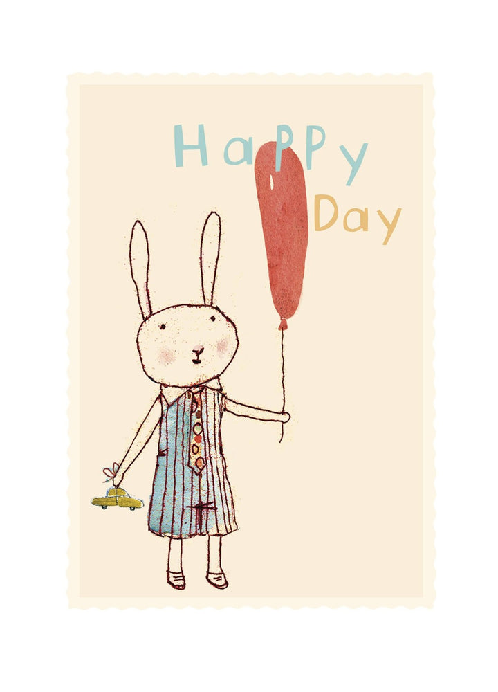 Happy Day Gift Tag Card Boy (small)