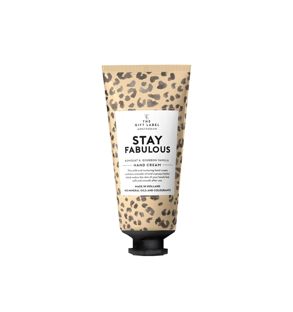 "Hand Cream ""Stay Fabulous"""