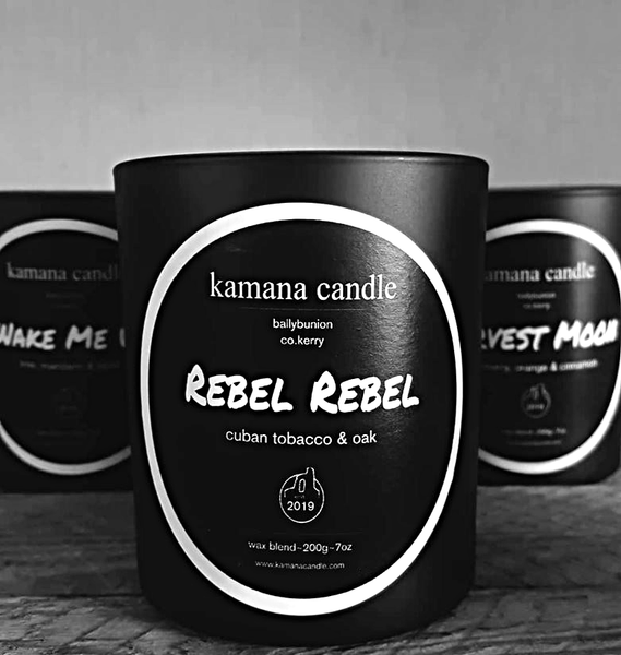 rebel rebel scented candle