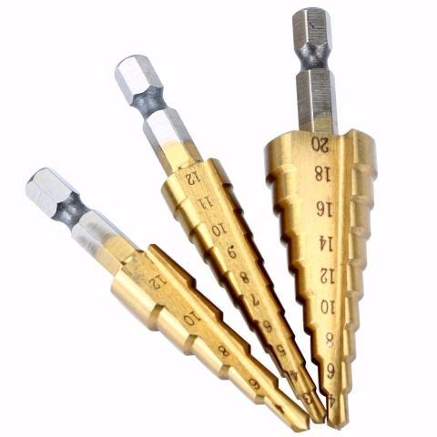 EasyDrill - Titanium Coated Drill Bit (3pcs)