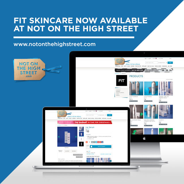 FIT Skincare now available at Not On The High Street