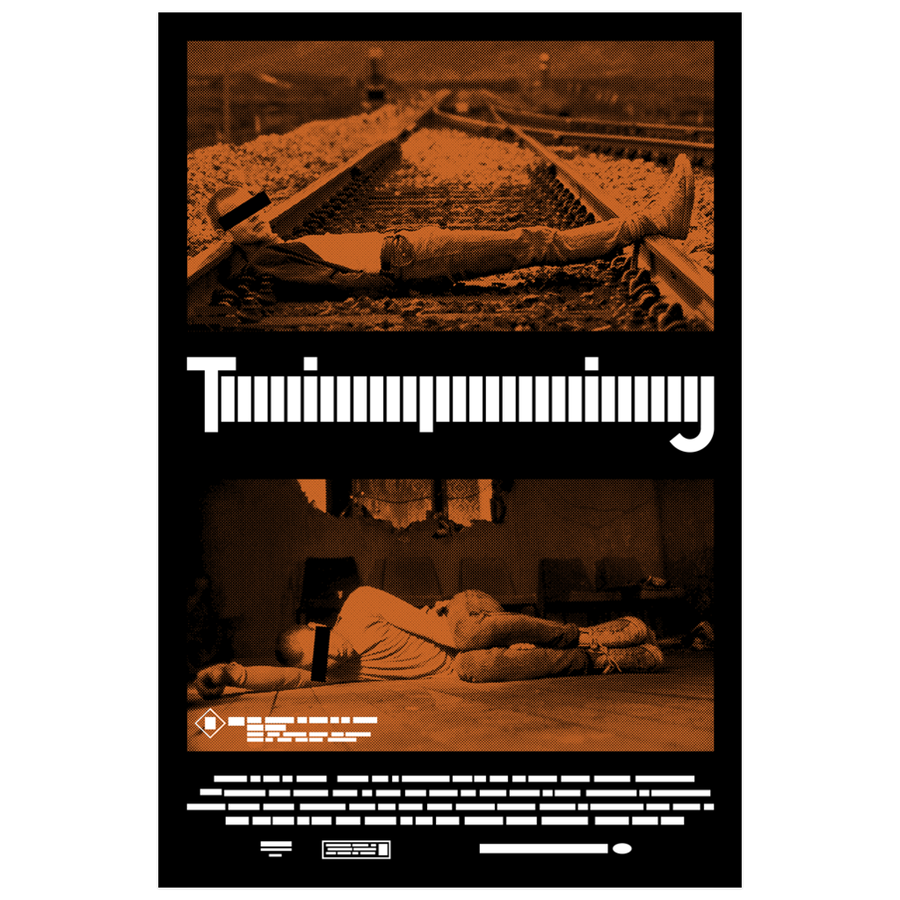 paint-it-black-design - Trainspotting - Poster - Poster