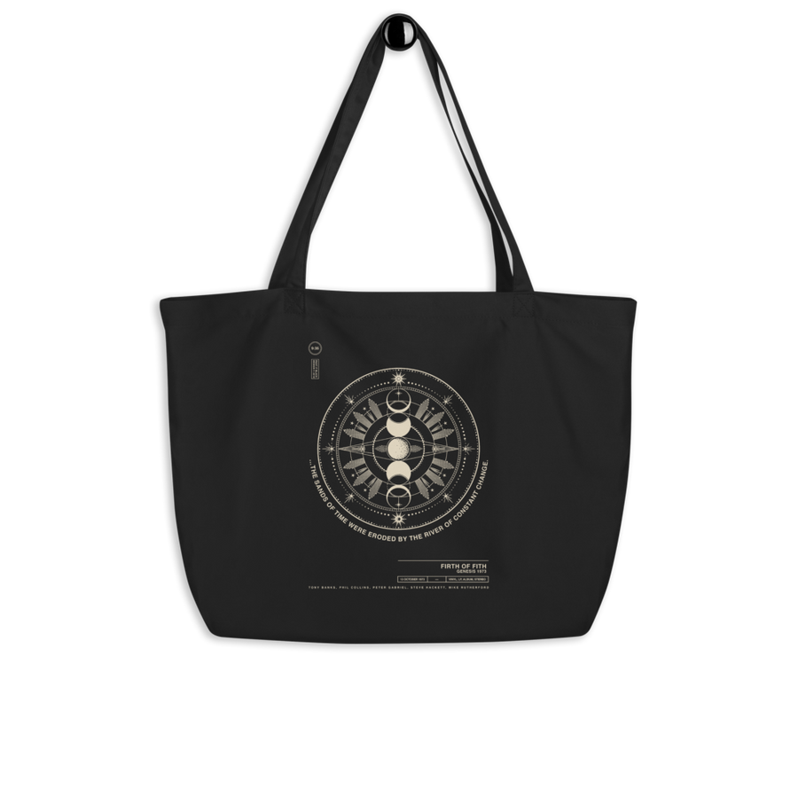Firth of Fifth Tote Bag - Paint It Black online shop