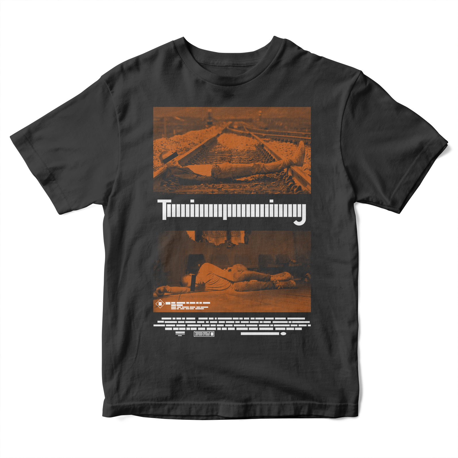 Trainspotting Kid's T-Shirt