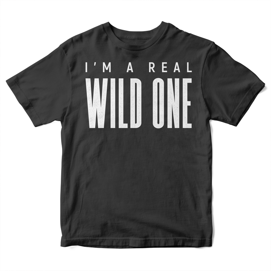 paint-it-black-design - Wild Kid's T-Shirt - T-Shirt