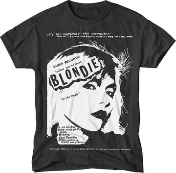 paint-it-black-design - Blondie/Bomp T-Shirt - T-Shirt