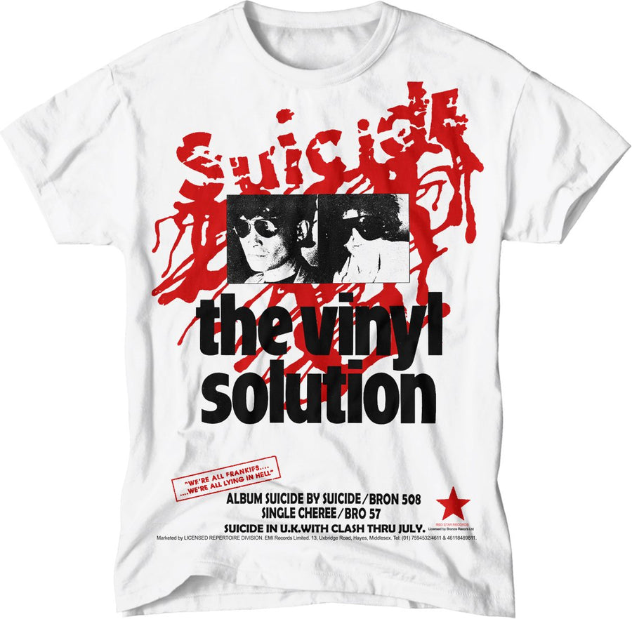 paint-it-black-design - Suicide/Vinyl T-Shirt - T-Shirt