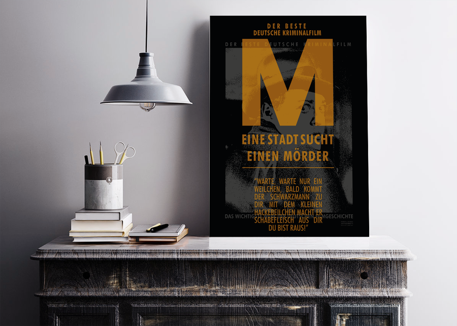 M the Monster - Poster