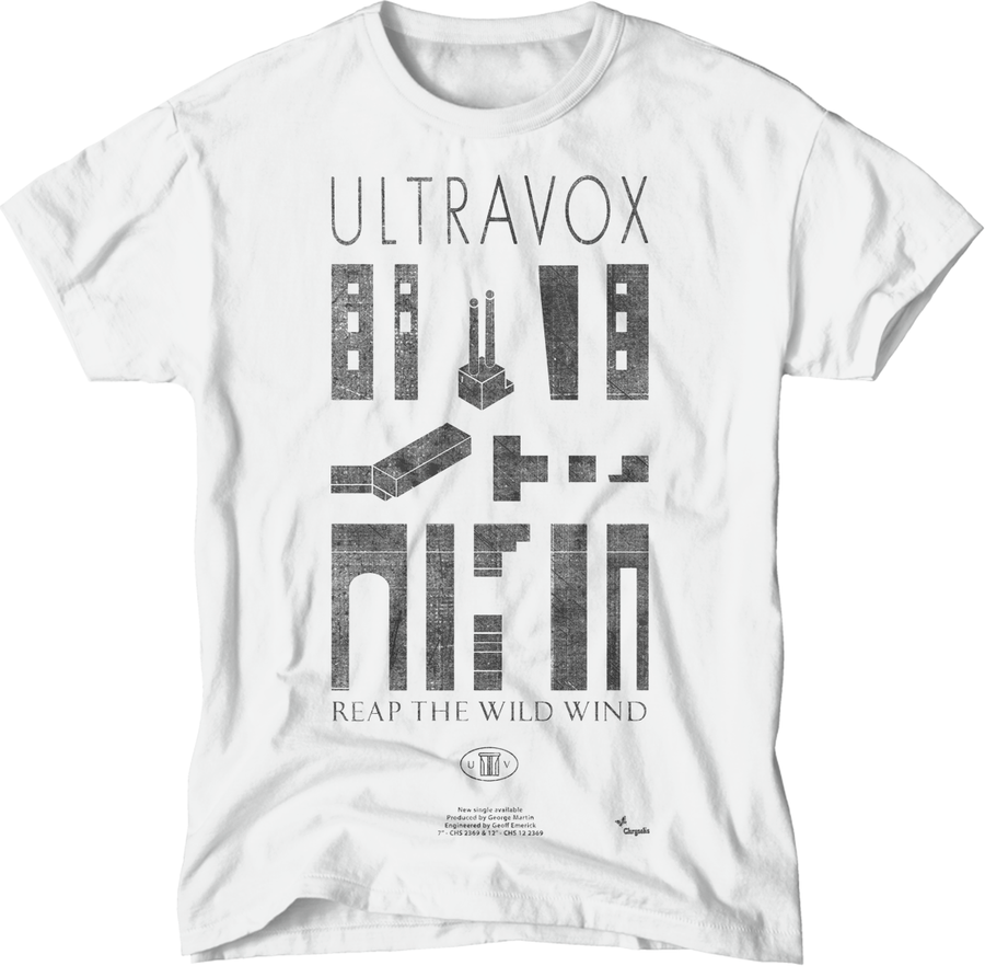 paint-it-black-design - Ultravox/Wild T-Shirt - T-Shirt