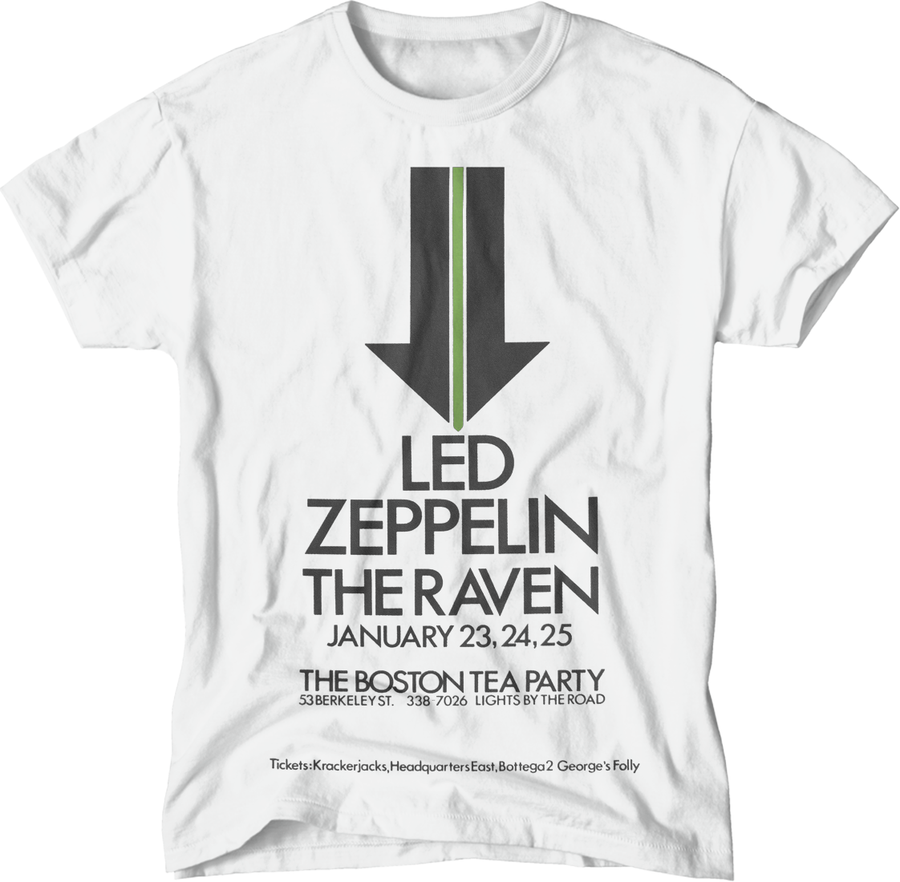 paint-it-black-design - L.Zeppelin/Boston T-Shirt - T-Shirt